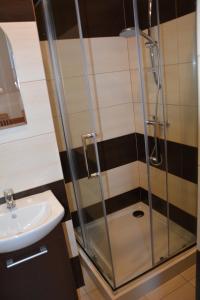 Łazienka w obiekcie DorJan - Pokoje i domki
