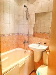 Koupelna v ubytování Sea Park Homes Neshkov