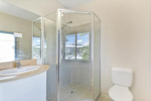 A bathroom at Inner City Executive Rooms - Room 5 - Share Accommodation Property