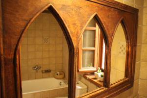 A bathroom at The Stone House