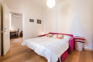 Letto o letti in una camera di Frassinago Apartment