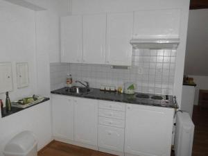 A kitchen or kitchenette at ABC apartments