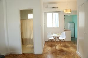Uma área de estar em Studio en San Telmo