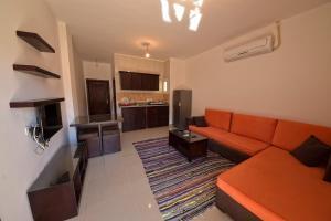 A seating area at Sunny Vacation Dahab