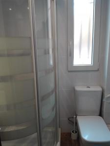 Un baño de Apartamentos Turísticos Teruel