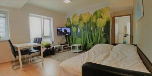 Istumisnurk majutusasutuses Scandian Apartments - City Park Tallinn