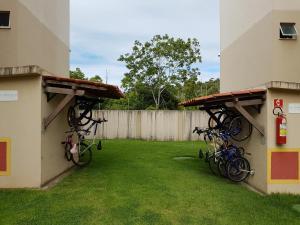 A garden outside Apartamento Modus Vivendi