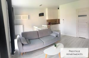 A seating area at Exclusive Apartment