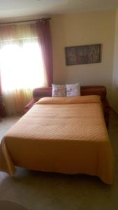 A bed or beds in a room at Albatros Sorrento
