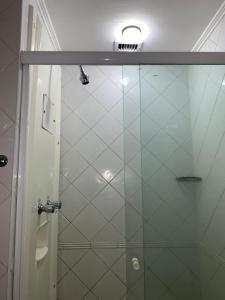 Um banheiro em Apartio Oscar Freire