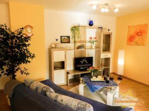 Ein Sitzbereich in der Unterkunft Ferienwohnung Ilona - [#120549]