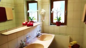 Ein Badezimmer in der Unterkunft Apart Austria