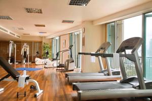 The fitness center and/or fitness facilities at Ascott Kuala Lumpur