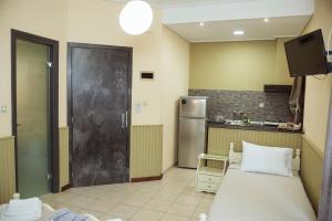 Η κουζίνα ή μικρή κουζίνα στο La Luna