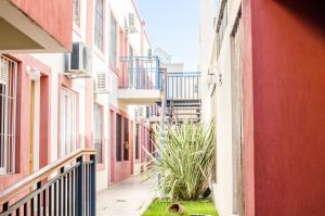 Un balcón o terraza en Complejo Granaderos