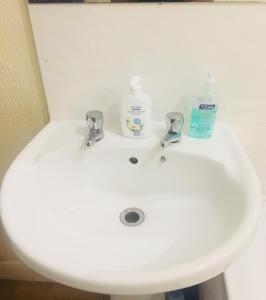 A bathroom at 35 McKean Street House