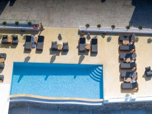 A view of the pool at Seethrough Mykonos or nearby