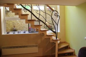 Vestibiulis arba registratūra apgyvendinimo įstaigoje Kalnas apartaments