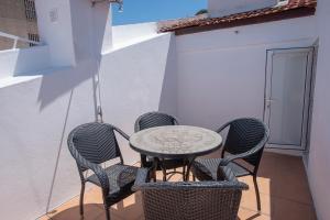 Balcon ou terrasse dans l'établissement Mouraria Duplex