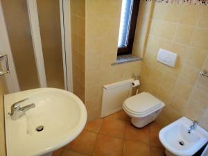 Een badkamer bij Sa Fiorida Appartamenti