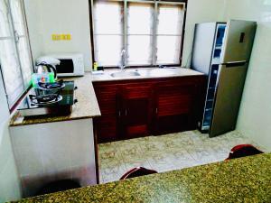 Küche/Küchenzeile in der Unterkunft Starbay Samui