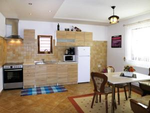 A kitchen or kitchenette at Haus Trumic 449S