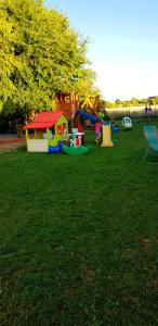 Children's play area at Sjesta -domki letniskowe