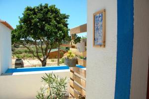 A piscina em ou perto de Guesthouse Lagoa Santo André