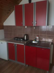 A kitchen or kitchenette at Apartments Andela