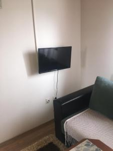 A television and/or entertainment center at Apartments Andela
