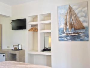 A television and/or entertainment center at Waterside Apartments
