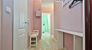 A bathroom at Pulkovskaya Apartment