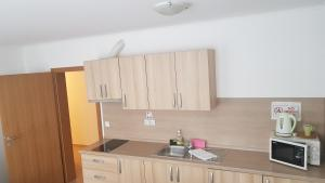 A kitchen or kitchenette at Bled Apartments