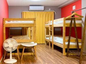 A bunk bed or bunk beds in a room at Villetta Odori