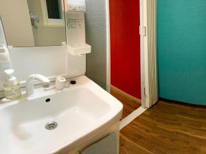 A bathroom at Villetta Odori