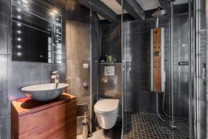 Ein Badezimmer in der Unterkunft CosyCocoon