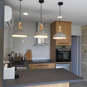 Küche/Küchenzeile in der Unterkunft Terrazza Suites