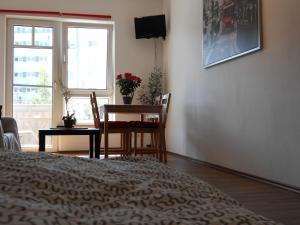 TV/Unterhaltungsangebot in der Unterkunft Apartment Beethoven