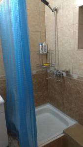 A bathroom at House on Borgustanskaya 12