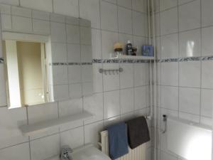 Salle de bains dans l'établissement Vakantiehuizen Cadzand