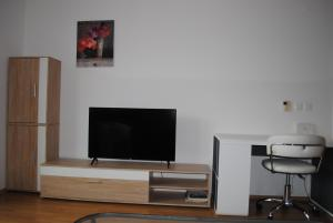 A television and/or entertainment center at PIKK Trenčianske Teplice