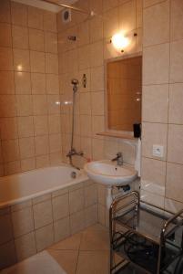 A bathroom at PIKK Trenčianske Teplice