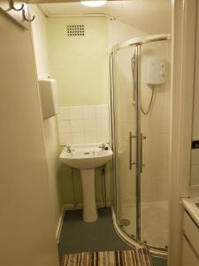 A bathroom at The VIP's