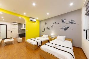 The Cranes' Home - Minimalist Luxury Twin Room