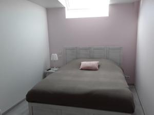 Un ou plusieurs lits dans un hébergement de l'établissement Le Gîte Dameryat