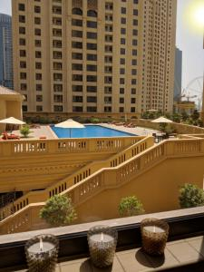 A view of the pool at Three bedroom Apartment - Murjan JBR or nearby