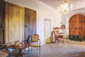 Area soggiorno di Palazzo Gatteschi