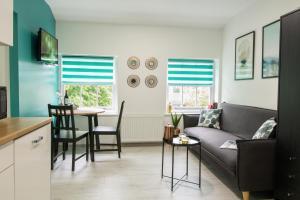 Ein Sitzbereich in der Unterkunft Smart Apartments Liverpool