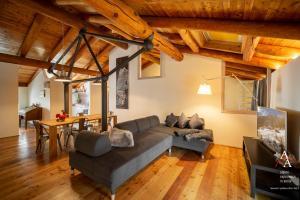 Area soggiorno di Tourneuve5 - Alp Apartments