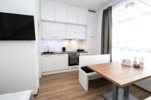 Kuhinja oz. manjša kuhinja v nastanitvi Apartma J.E.Ž.